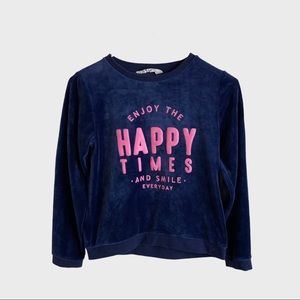 H&M little girl sweater chic